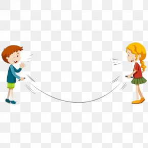 Jump Rope, Kid - Jump Ropes Jumping Illustration PNG