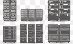 Vector Server Group - Server Euclidean Vector 19-inch Rack Icon PNG