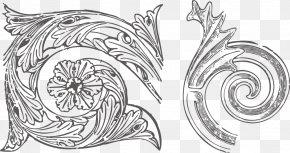 Vector Pencil Drawing Retro Decorative Elements - Drawing Pencil Euclidean Vector Sketch PNG