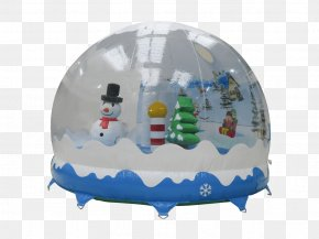 Snow - Inflatable Bouncers Snow Globes Christmas PNG