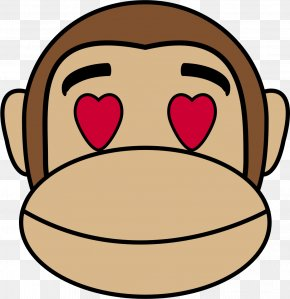 Lifebuoy - Ape Emoji Monkey Drawing Clip Art PNG