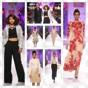 Model - Haute Couture Fashion Design Fashion Show Model Lakme Fashion Week PNG