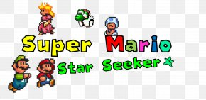 Ufo Seekers - Super Mario Advance 4: Super Mario Bros. 3 Logo Brand Game Boy Advance PNG