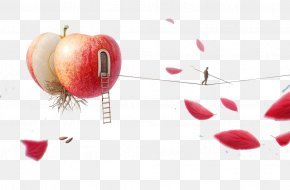 Apple And Petals - Portrait Thumbnail PNG