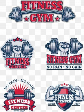 Vector Hand-painted Gym Icon - Fitness Centre Euclidean Vector Icon PNG