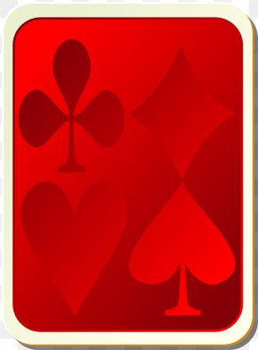 Playing Cards - Heart Symbol Playing Card PNG