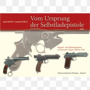 Weapon - Revolver Pistol Weapon Firearm Steyr Mannlicher PNG