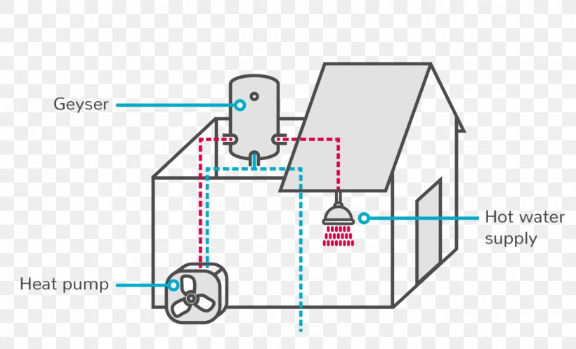 wiring diagram electricity solar water heating png