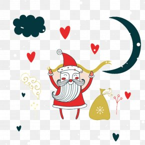 Santa Claus - Santa Claus Christmas Greeting Card New Year Card New Years Day PNG