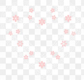 Lace Heart Clip Art Image - Textile Symmetry White Pattern PNG