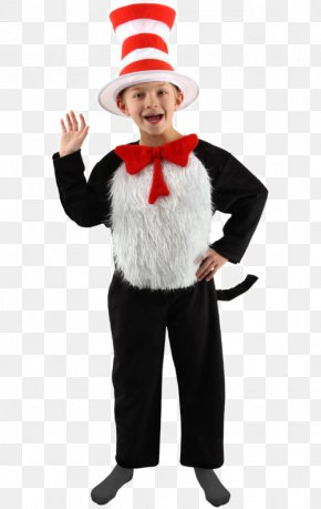 Original Cat In The Hat Book - The Cat In The Hat Thing Two Thing One Costume Child PNG