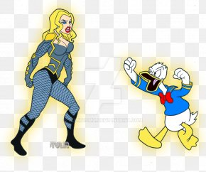 Donald Duck - Daffy Duck Donald Duck Mickey Mouse Black Canary Dick Grayson PNG