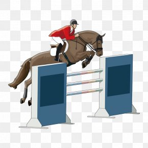 Horse Racing - Horse Equestrianism Show Jumping Drawing Illustration PNG