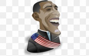 Obama Head Vector Material - Barack Obama United States Politician The Iconfactory Icon PNG