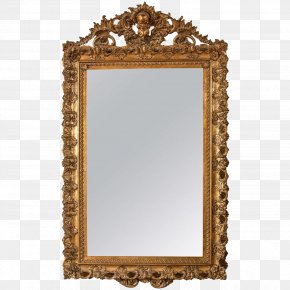 Antique Carved Exquisite - Picture Frames Mirror Gilding Gold Wood PNG