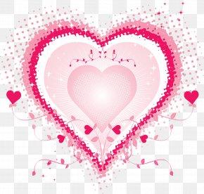HEART FLOWER - Valentine's Day Heart Desktop Wallpaper Happiness Love PNG