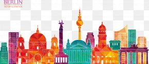 Berlin City Vector Illustration - Berlin PNG