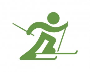 Cross Country Symbols - Winter Olympic Games Paralympic Cross-country Skiing Winter Sport PNG