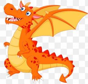 Cartoon Dragon - Dragon Fire Breathing Illustration PNG