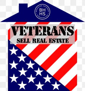 Real Estate Agents - Flag Of The United States Logo Brand Sticker PNG