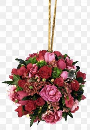 Rose Hanging Bouquet Picture - Flower Bouquet Rose Clip Art PNG