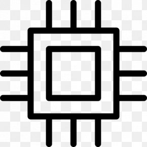 Chip Transparent Image - Integrated Circuit Central Processing Unit ICO Icon PNG