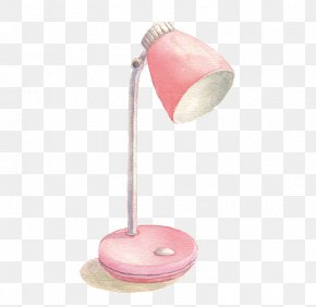 Pink Table Lamp - Pink Lighting Download PNG