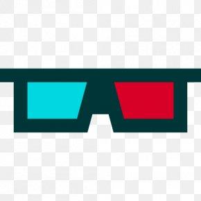3D Cinema - Polarized 3D System 3D Film Vector Graphics Clip Art PNG