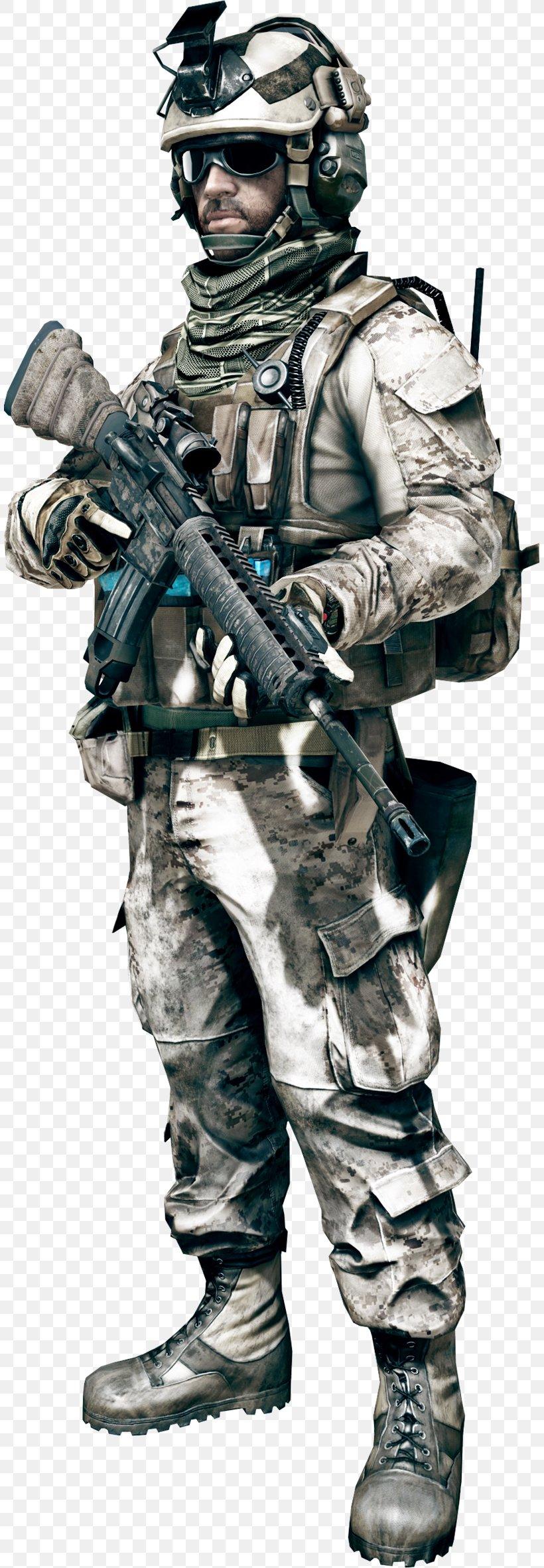 Battlefield 3 Battlefield 4 Battlefield 1 Battlefield 2 Battlefield: Bad Company 2, PNG, 807x2363px, Battlefield 3, Armour, Army, Assault Rifle, Battlefield Download Free