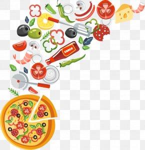 Pizza - Pizza Margherita Italian Cuisine Fettuccine Alfredo Fast Food PNG