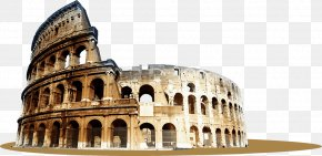 Colosseum Transparent - Colosseum Palatine Hill Roman Forum Capitoline Hill Amphitheatre Of Mxe9rida PNG
