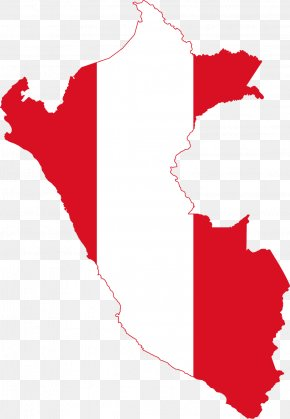 Map - Flag Of Peru Map National Flag PNG