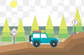 Watercolor Off-road Vehicle Climbing - Sport Utility Vehicle Car Off-road Vehicle Off-roading PNG
