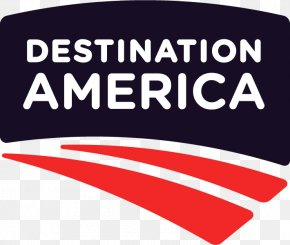 Destination - United States Destination America Television Channel Logo PNG