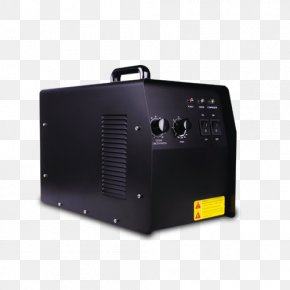 Yellow Label Black Power Supply Box - Box Power Converters Electronics Ozone Generator PNG