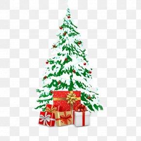 Christmas Tree - Snowman Christmas PNG