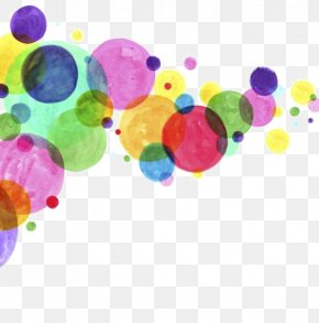 Drawing A Circle - Watercolor Painting Drawing Circle Abstract Art PNG