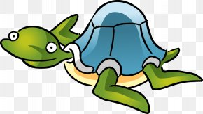 Turtle Cartoon Vector - Cartoon Aquatic Animal Clip Art PNG