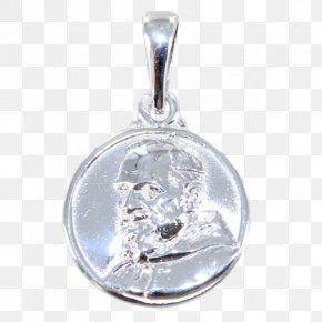 Padre Pio - Locket Body Jewellery PNG