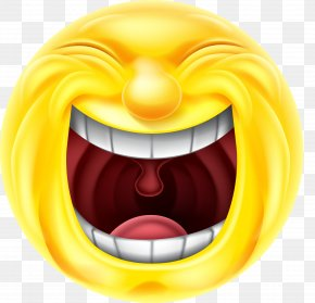 Grow Up The Mouth Of The Sun Expression - Emoticon Smiley Laughter Emoji Clip Art PNG