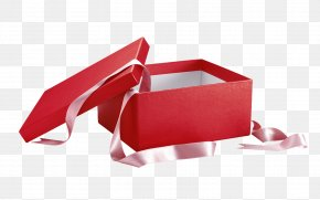 Red Gift Box - Box Gift Photography PNG