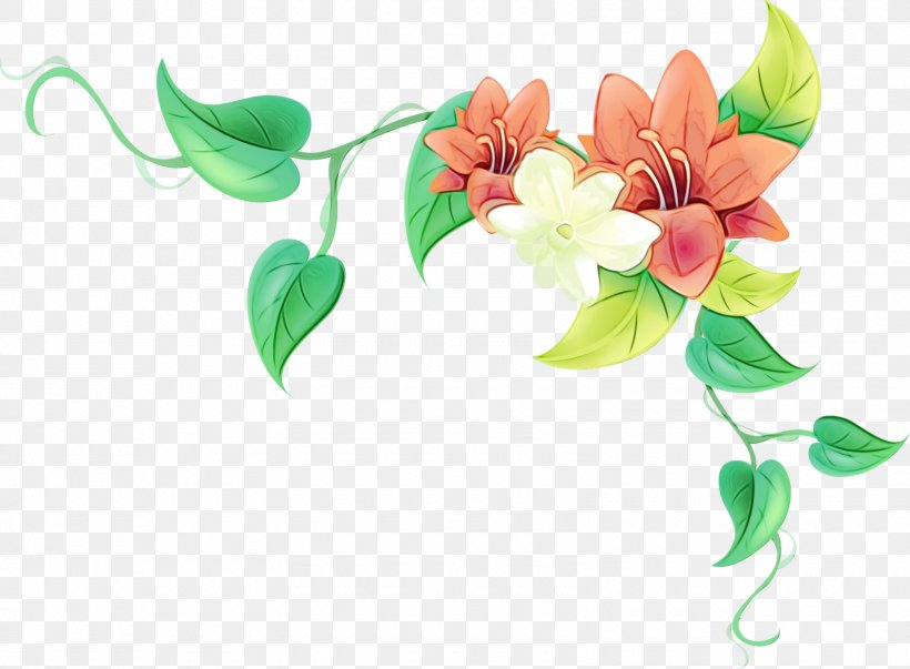 Flower Leaf Plant Branch Flowering Plant, PNG, 1600x1178px, Watercolor, Branch, Flower, Flowering Plant, Leaf Download Free