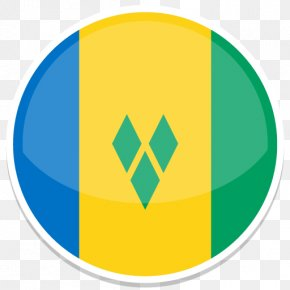 Saint Vincent And The Grenadines - Area Symbol Yellow Green PNG