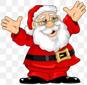 Santa Claus - Santa Claus Village Rudolph Christmas Clip Art PNG