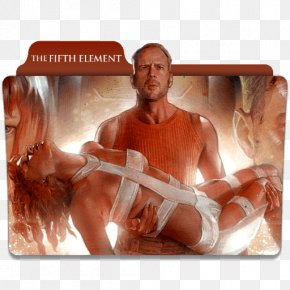 Milla Jovovich - Bruce Willis The Fifth Element Film Producer Art PNG