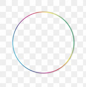 Colorful Gradient Circle - Circle Area Point Angle Pattern PNG