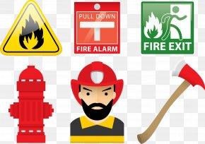 Vector Firefighter - Firefighter Firefighting PNG