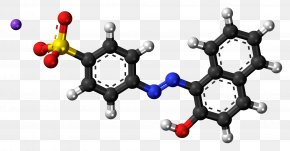Molecule - Psilocybin Mushroom Magic Mushrooms Psychedelic Drug Ball-and-stick Model PNG