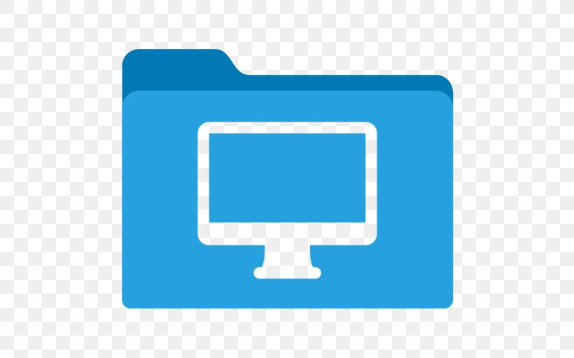 Computer File Directory Blue Download, PNG, 512x512px, Directory, Blue, Brand, Color, Computer Download Free