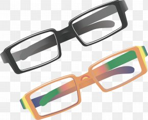 Glasses Vector Material - Goggles Glasses Near-sightedness PNG